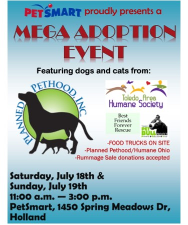 Glass City Dog Park - Pet Smart Mega Adoption Event